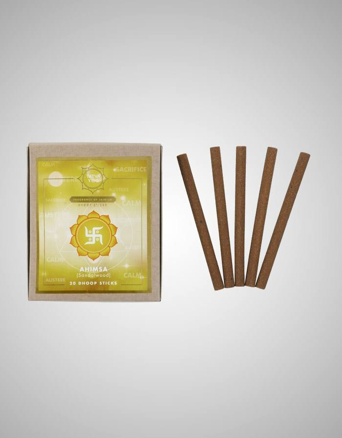 Tatvayog Ahimsa - Dhoop Sticks Pack (20 Dhoop Sticks)