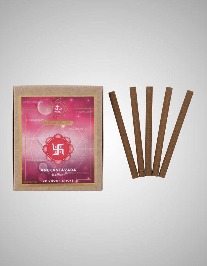 Tatvayog Anekantavada - Dhoop Sticks Pack (20 Dhoop Sticks)