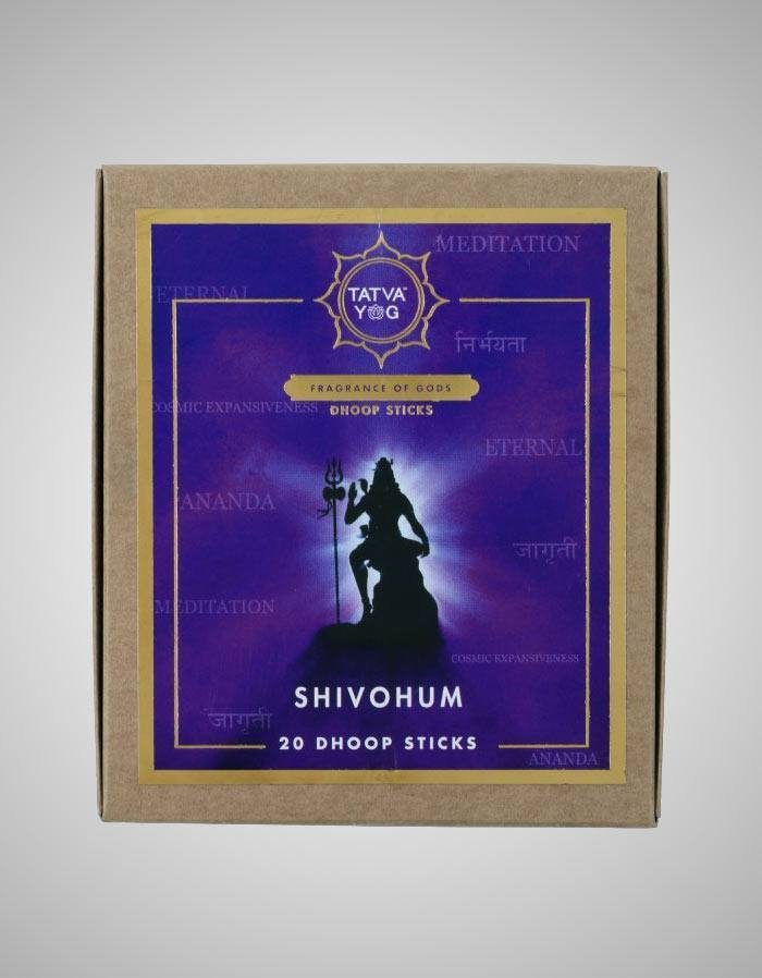 Tatvayog Shivohum - Dhoop Sticks Pack - (20 Dhoop Sticks)
