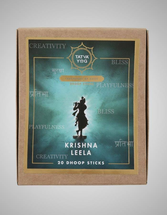 Tatvayog Krishna Leela - Dhoop Sticks Pack - (20 Dhoop Sticks)