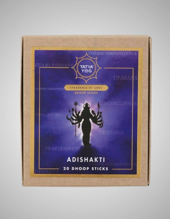Tatvayog Adishakti - Dhoop Sticks Pack (20 Dhoop Sticks)