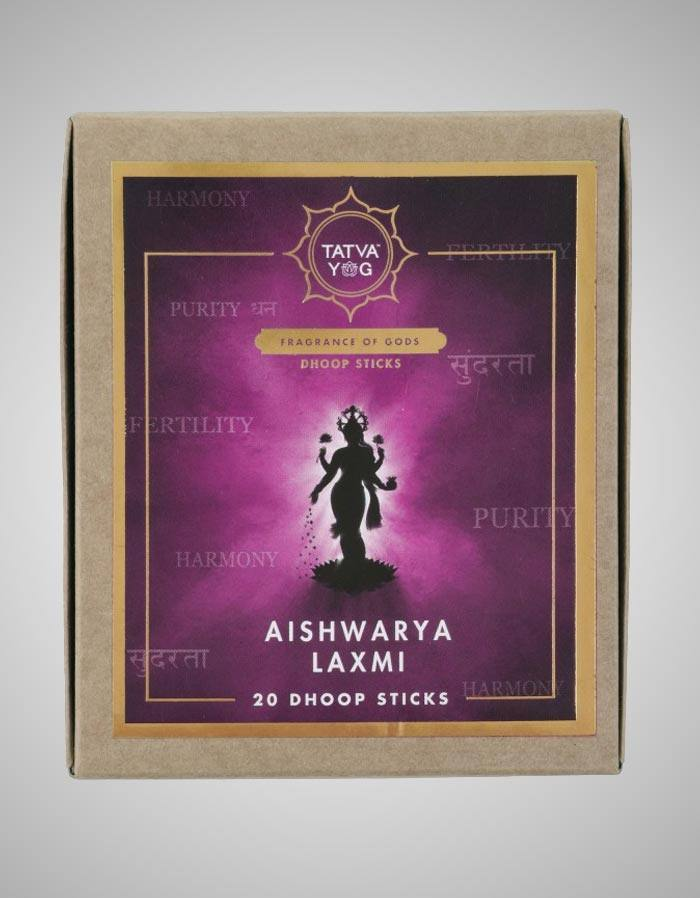 Tatvayog Aishwarya Lakshmi - Dhoop Sticks Pack (20 Dhoop Sticks)