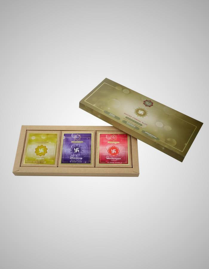 TatvaYog Jainism Dhoopstick Pack - Introducing Selectively Created Janism Dhoopstick - Pack of 3
