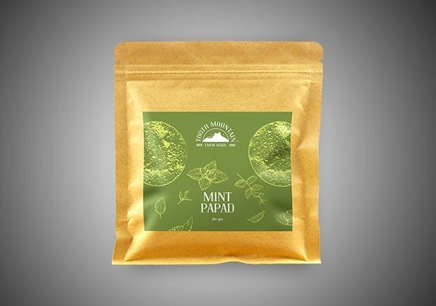 Tooth Mountain Farm Made Mint Papad - 180 Gms