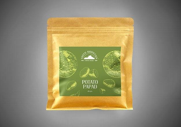 Tooth Mountain Farm Made Potato Papad - 180 Gms
