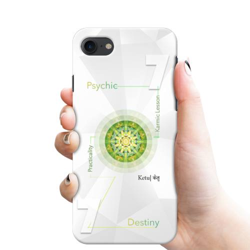 Numerology Number 7 - Ruling Planet Ketu Phone Cover